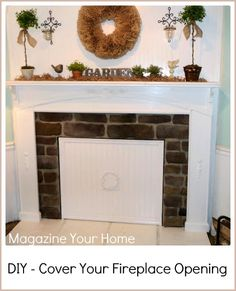 77 Best Fireplace Cover Images Fire Places Fireplace Set Diy