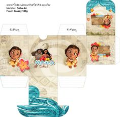 - Oh My Baby! Baby Moana, Festa Moana Baby, Moana Printables, Free Printables, Printable Box, Moana Party Invitations, Moana Party Decorations, Moana Theme, Moana Birthday Party