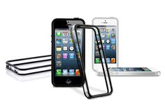 Transparent Bumper Frame Over mold Hybrid Protector Cases for iPhone 5s & iPhone 5 | Lagoo Tech