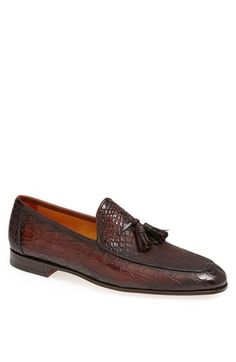 ca38f606c9f5e9 Magnanni  Claudio  Tassel Slip-On available at  Nordstrom Extravagante  Schuhe