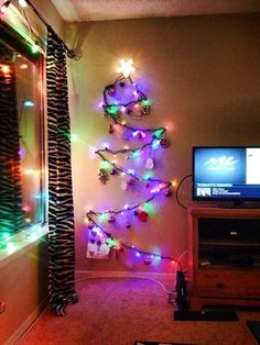 32 Creative Life Hacks For The Truly Desperate College Student,,Be%20festive%20without%20dragging%20a%20tree%20up%20three%20flights%20of%20dorm%20stairs