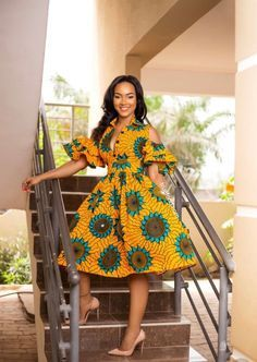 African print fashion dresses African clothing for women/ African prints dress for prom / African Fashion Designers, Latest African Fashion Dresses, African Print Dresses, African Dresses For Women, African Print Fashion, Africa Fashion, African Wear, African Attire, African Women