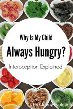 I've often wondered if my child's incessant hunger was tied to the interoception sense -- Sensory Processing Disorder. Tap the link to check out fidgets and sensory toys! Always Feeling Hungry, Always Hungry, Sensory Diet, Sensory Issues, Sensory Toys, Sensory Activities, All You Need Is, Calendula Benefits, Sensory Integration