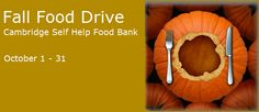 Thanksgiving Food Drive - http://centralchurchcambridge.ca/news/thanksgiving-food-drive-3  The Cambridge Self Food Bank's annual  Fall Food Drive has begun. Let's make sure we fill the baskets. More than ever, the Food Bank needs your support to help it lift up those in need.