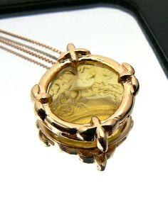 Horses Glass paste (pasta vitrea) mounted in silver pink gold plated Dogale Jewellery Venice Italia www.veneziagioielli.com