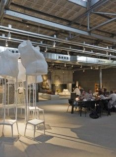 Kazerne expo and restaurant in Eindhoven