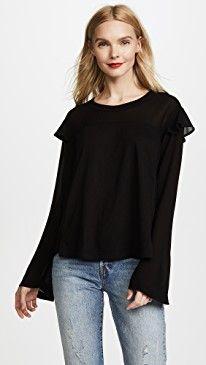 New Wilt Georgette Layer Sleeve Tee online. Find great deals on Ganni Clothing from top store. Sku sgjc67784jvbk73745