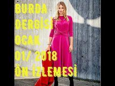 Dikişe Dair ~Esma Ünlü~: Burda Dergisi 01/2018 Ocak Sayısı Ön İzlemesi