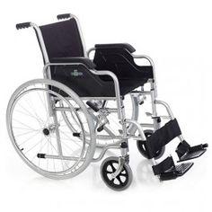 Silla de Ruedas de Acero Rua. Silla de ruedas de acero Rua. La silla Rua es una silla plegable y está disponible en dos versiones, con ruedas autopropulsables o con ruedas de tránsito. Aunque es de acero es muy ligera y puede completarse con los distintos accesorios que están disponibles.