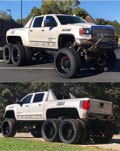 trucks and cars Dually Trucks, Lifted Cars, Lifted Chevy Trucks, Gm Trucks, Cool Trucks, Chevy Diesel Trucks, 6x6 Truck, Custom Pickup Trucks, Jeep Truck