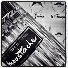 Laissons poussez les poils! #parfum du jour: Moustache #vintage #Rochas. #fragrance of the day