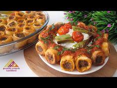 Εξαιρετικά γεμάτο και εξίσου νόστιμο ❗ [TÜRKİŞ KEBAP] Η οικογένεια θα το λατρέψει πάρα πολύ. - YouTube Salty Foods, Turkish Recipes, Beef Dishes, Soul Food, Carne, Waffles, Turkey, Iftar, Baking