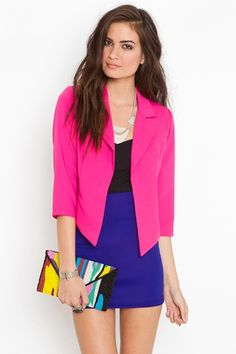 Love this blazer.