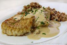 TAPENDA Przepisy Kulinarne na każdy dzień: Dorsz w Sosie Śmietankowo- Musztardowym