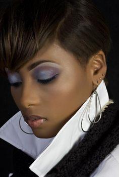 Make up brown skin darker skin meduim skin tones ColdAsEyce Artistry | Charlotte, NC 28226