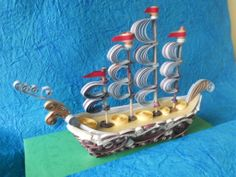 Quilling Cafe ship