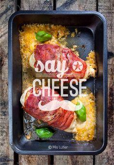 © Mis Lutier: Pollo al horno con queso y mostaza