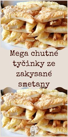 Slovak Recipes, Czech Recipes, Ethnic Recipes, Appetizer Recipes, Appetizers, Cooking Tips, Cooking Recipes, Keto Bread, Party Snacks