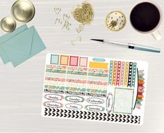 Pinning so I don't forget!! Remember to go back and check out Crafted By Corley on Etsy. Birds and Blossoms - Transform My Planner Erin Condren Vertical Planner Sticker Happy Planner Sticker Sticker Set Weekly View Sticker by CraftedByCorley