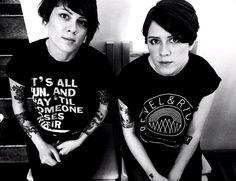 Tegan and Sara - My favorite Canadian twins!