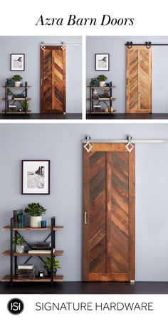 Barn Doors: Statement Pieces for Your Home Home Renovation, Home Remodeling, My New Room, Room Decor Bedroom, Home Projects, Barn Doors, Diy Home Decor, Home Goods, Sweet Home