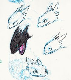 Toothless faces 3 by little-ampharos.deviantart.com on @deviantART