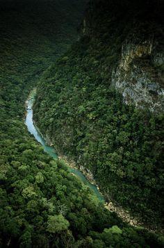 Sierra Madre en Tamaulipas Mexico.