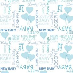 Baby Boy Personalised Gift Wrapping Paper Baby Gift Wrapping, Gift Wrapping Paper, Special Gifts, Great Gifts, Personalized Baby Gifts, Baby Prints, New Baby Products, Baby Boy, Nursery Prints