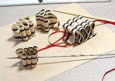 Ornements sucrerie de ruban - CCP