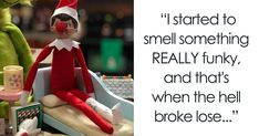 Mom's Lies About The Elf On The Shelf Backfire Hilariously