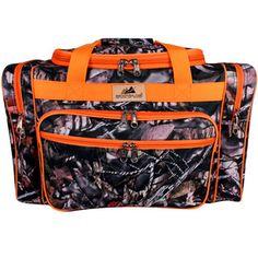 "$12.50 20"" BNB Natural Camo™ Duffle with Orange Trim"