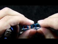 Half Persian 3 in 1 Chainmail Tutorial - Right/Left Leaning - YouTube