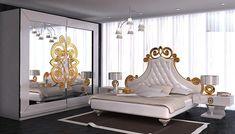 Lüks Avangard Yatak Odası Modelleri ve Yatak Başlık Modelleri
