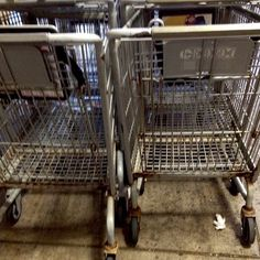 In a University of Arizona study, shopping carts ranked third on a list of nastiest public items to touch, behind playground equipment and mass transit armrests. #grocerystore