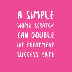 6081124968ea83 A Simple Womb  Scratch  Can Double IVF Treatment Success Rate