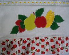 Panos de Prato Patch Aplique Frutas