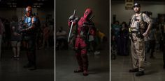 How to Shoot Cosplay Portraits at Comic Con with Just One Light