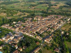 Photo aérienne de Monpazier