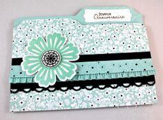 Carte de souhaits avec les produits Stampin'Up! par Scrabouki! Cards, Enveloppe Punch Board, Planche Insta-Enveloppe, Jeu d'étampes Mixed Bunch