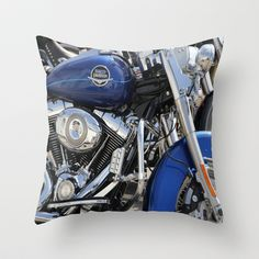 Harley Throw Pillow by Veronica Ventress - $20.00