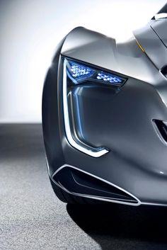 Futuristic Car, 2011 Chevrolet MiRay concept