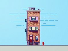 Inspired by last shot made by @Ryan Putnam and build this small house:)