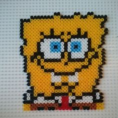 SpongeBob hama beads by bjorkis73