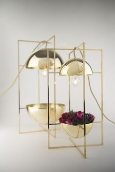 LONDON DESIGN FESTIVAL 2014 - The Bauhaus inspired Exhibit Light & Bowl by MEJD