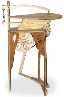 Foot Treadle Scroll Saw Plan