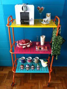 Mini estante color :) #decor