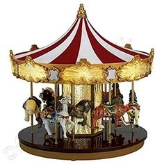 Animated Symphony Of Bells Musical Tabletop Decoration Mrchristmas Gold Label Animated Symphony Of Bells Music Box For