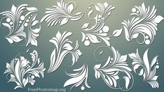 Download Free Floral & Swirls Designs and other Photoshop Add-ons for Free. You can use these Designs Commercially. We also Offer Brushes, patterns and Custom shapes.