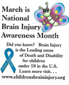 National Brain Injury month
