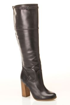 Tall Boot In Black.
